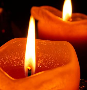 Ein Licht bedeutet auch, dass sie nie vergessen werden